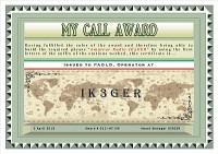 MY CALL award
