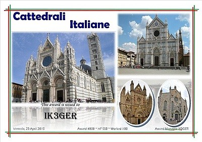 Italian Cathedrals award