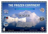 THE FROZEN CONTINENT 1 award